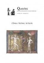 30 | 2015 L'Erreur, l'échec, la faute | La Revue des Périodiques et des Livres en Sciences Sociales | Scoop.it