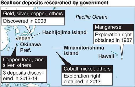 Govt aims to commercialize seafloor mining in 2020s | deepsea mining | Scoop.it