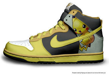 Nike Dunk Pikachu High Tops Pokemon Nike Dunk Pikachu / Pikachu Nike High Tops | Pikachu Nike Dunks | Scoop.it