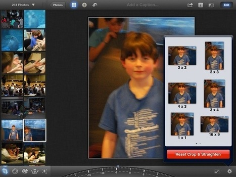 Learn The Best Ways To Use iPhoto For iPad [Feature] | Cult of Mac | LearningGems | Scoop.it