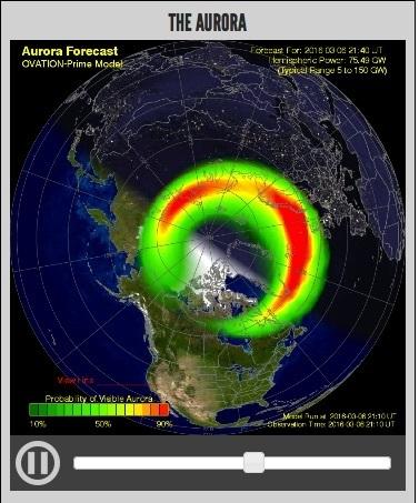 #AuroreBoréale en #Norvège cette nuit | Arctique et Antarctique | Scoop.it