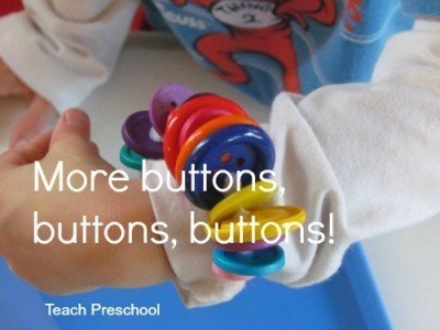 More buttons, buttons, buttons | Teach Preschool | Scoop.it