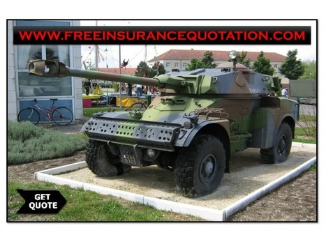 Military Car Insurance Quotes With No Deposit And Low Premium Rates | Free Insurance Quotation | Scoop.it