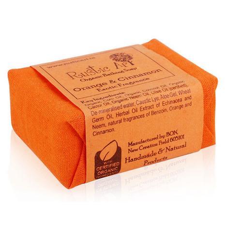 Rustic Art Organic Orange and Cinnamon Soap – Cinnamon bath soap | Health Care | Scoop.it