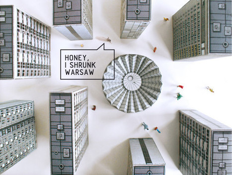Warsaw's Brutalist Buildings Dutifully Recreated in Paper | WIRED | IT Trends, StartUps & something more... | Scoop.it