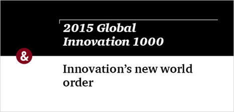 Innovation 1000 Study | 2015 | PwC's Strategy& | Welcome to a new business world | Scoop.it