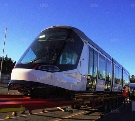 La nouvelle rame Citadis du tram qui roulera sur la ligne D vers Kehl arrive de La Rochelle | Strasbourg Eurométropole Actu | Scoop.it