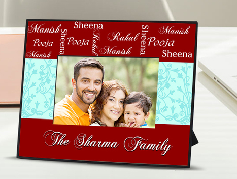 Family Frame: Buy Customized Family Frame Online | Amazing designs for amazing customized gifts | Scoop.it