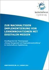 Zur nachhaltigen Implementierung von Lerninnovationen mit digitalen Medien | weiterbildungsblog | Technology Enhanced Learning in Teacher Education | Scoop.it