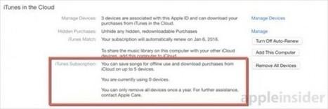 Des traces d'un service de streaming musical par abonnement repérées dans iTunes 12.1.2 | Téléphone Mobile actus, web 2.0, PC Mac, et geek news | Scoop.it