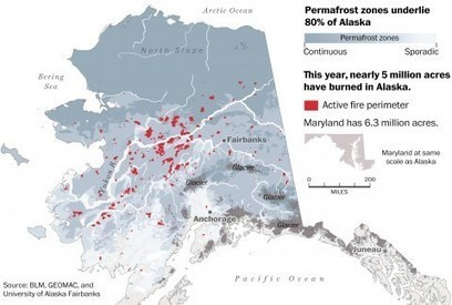 Alaska's terrifying wildfire season and what it says about climate change | Sustain Our Earth | Scoop.it