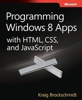 Free ebook: Programming Windows 8 Apps with HTML, CSS, and ... | JavaScript Apis | Scoop.it