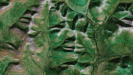 Google Faces - searching for faces on Google Maps -  Pareidolia - Created by Onformative | Digital MediaArts Numériques | Scoop.it