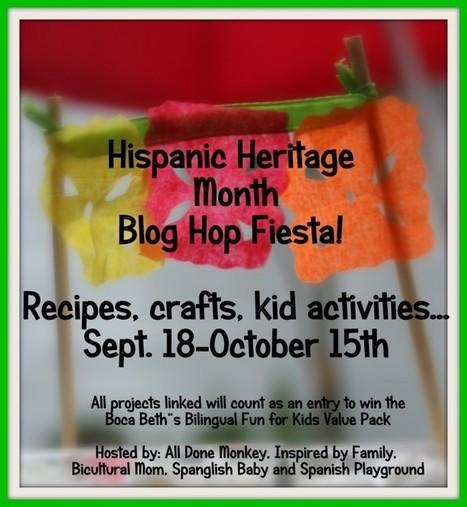 Hispanic Heritage Month Blog Hop Fiesta! » Spanish Playground | Preschool Spanish | Scoop.it