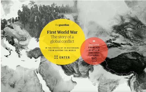 A global guide to the first world war - interactive documentary   La Première Guerre mondiale : Le Centenaire   Scoop.it