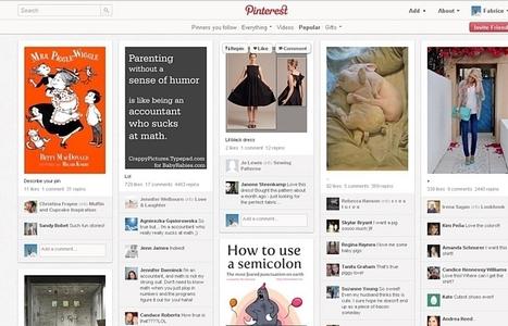 Quel est l'intérêt de Pinterest? | Misc Techno | Scoop.it