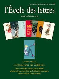 L'école des lettres | Littérature pour le collège | Scoop.it