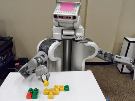 Ask the crowd: Robots learn faster, better with online helpers   leapmind   Scoop.it