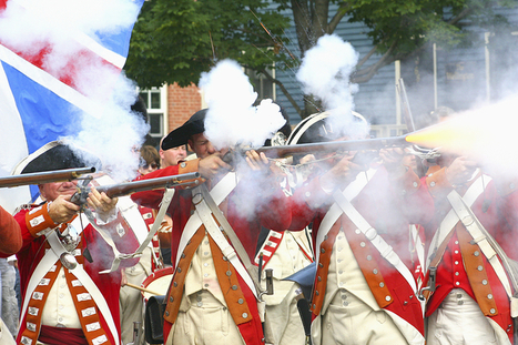 The Aim of British Soldiers - Journal of the American Revolution | US History | Scoop.it