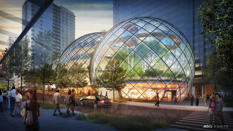 As Amazon Stretches, Seattle's Downtown Is Reshaped | Geography Everywhere | Scoop.it