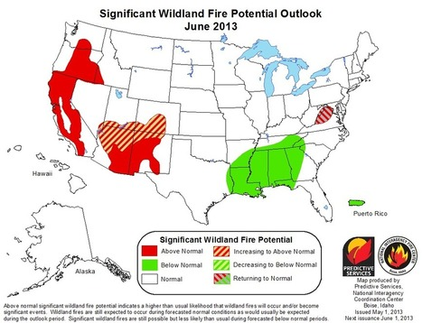 Fire Season May Come Early Out West | Climate Central | Climate change challenges | Scoop.it