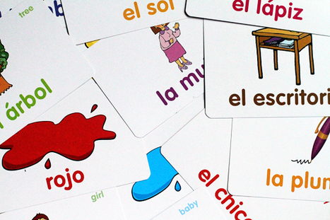 #Language #learning: #Flashcards and other games to teach a second lanuage to your child | Language Learning Methods | Scoop.it