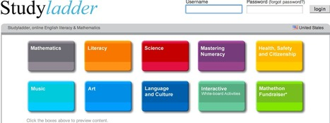 Studyladder, online english literacy & mathematics. Kids activity games, worksheets and lesson plans. | In The Classroom | Scoop.it