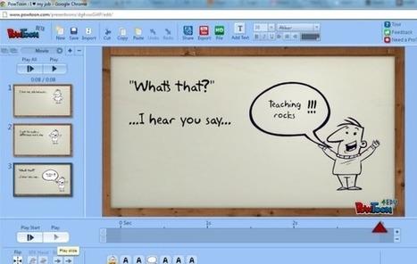 PowToon, aplicación web para crear presentaciones y vídeos | kike | Scoop.it