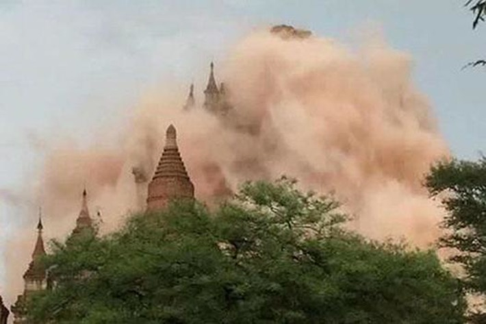 Myanmar quake damages 60 pagodas | Archaeology News Network | Kiosque du monde : Asie | Scoop.it