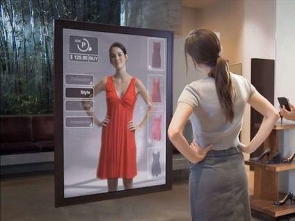 Amazon a breveté un miroir pour l'essayage de vêtements | Le point de vente de demain | Scoop.it