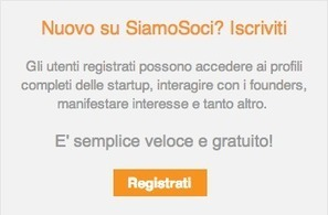 SiamoSoci news - Startup innovative: iscrizione al Registro Imprese | Start up italiane | Scoop.it
