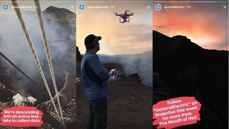 General Electric Is Using Instagram Stories to Promote Its Snapchat Series About Volcanoes | SportonRadio | Scoop.it