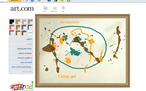 art.com artPad | Technology Uses in the Classroom for Newbies! | Scoop.it