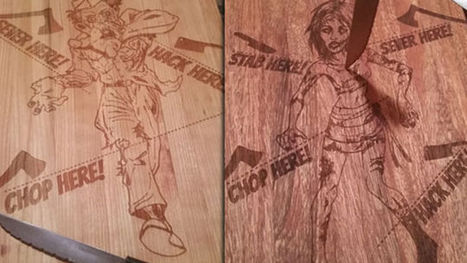 Zombie Cutting Boards Are Possibly The Most College Thing Ever | Zombie Mania | Scoop.it