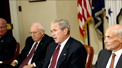 BY 10/22 or 10/23 -- Inside the Bush, Cheney relationship | Mollie's Government Adventures | Scoop.it