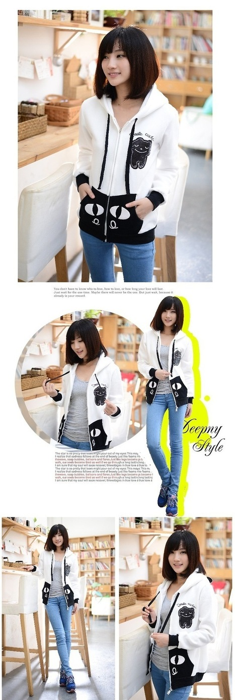 Cugau's Blog - Tự tin và xinh tươi hơn trong mẫu áo khoác nữ hình... | Thời Trang Nữ Đẹp | Scoop.it