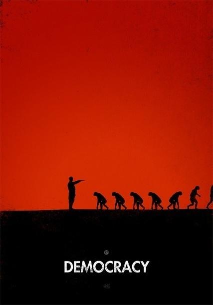 L'évolution de l'Homme détournée de 99 façons dans des illustrations inventives et satiriques | Un peu de tout et de rien ... | Scoop.it