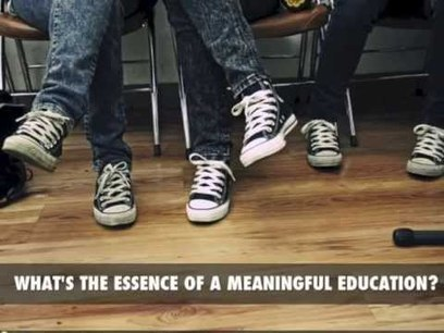 What's the Essence of a Meaningful Education? - YouTube | Education | Scoop.it