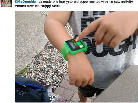 McDonald's serving up fitness trackers in Happy Meals | Digital Transformation of Businesses | Scoop.it