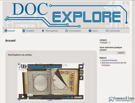 DocExplore : une suite logicielle gratuite pour créer des présentations interactives | François MAGNAN  Formateur Consultant | Scoop.it