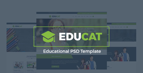 Educat - Education PSD Template | Individual and Special Needs Examiner | Scoop.it