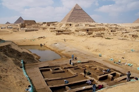 The Archaeology News Network: New findings at Egypt's Giza Plateau | Ancient cities | Scoop.it