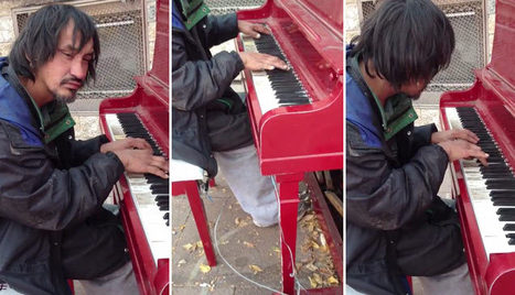 Homeless Man Plays The Piano Beautifully | DailyVideosTV | Scoop.it
