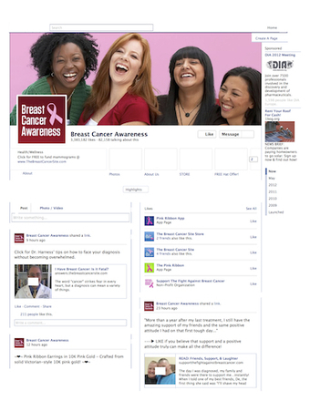 Users engaged more with cancer-focused Facebook pages than other health pages | Las TIC en Ciencias de la Salud | Scoop.it