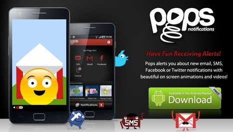 Pops - Personalize your phone alerts with fun animations and videos. | Teaching in the XXI Century | Scoop.it