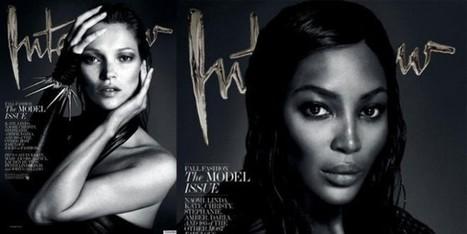 Nude per 'Interview' le icone degli anni Novanta | fashion and runway - sfilate e moda | Scoop.it