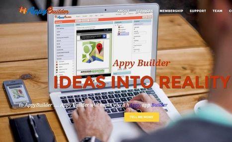 Appy Builder: nueva plataforma web para crear gratis apps Android sin programar | desdeelpasillo | Scoop.it