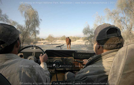 Off roading at Hingol National Park, Balochistan | Tourism in Pakistan | Scoop.it