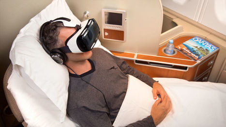 Qantas Will Offer Passengers Virtual Reality In-Flight | Strategies for Fast Changing Realities | Scoop.it