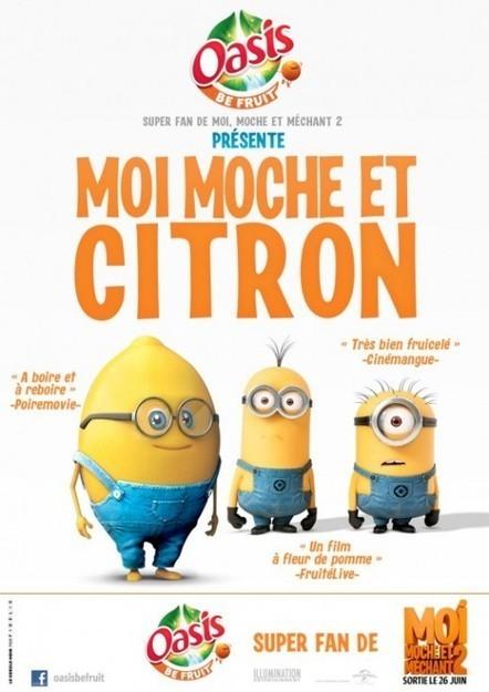Bande annonce exclusive : Moi, Moche et Citron - L1FO.ma   OasisOSF   Scoop.it